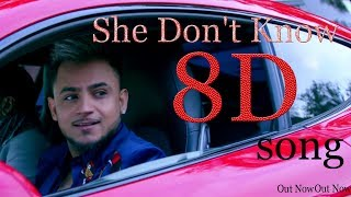 Gambar cover | 8D song | She Don't Know: Millind Gaba Song | Shabby | New Songs 2019 | Latest Hindi Songs