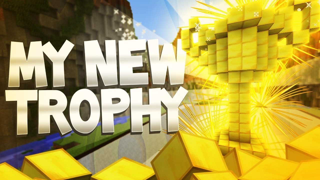 how to make a trophy in minecraft