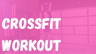 CrossFit Workout | Thruster | Single Arm Row | Squat Thrust