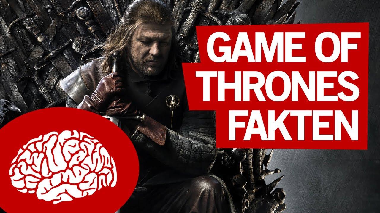 Fakten über Game Of Thrones