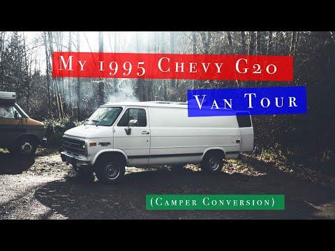 My 1995 Chevy G20 Van Tour (Camper Conversion)