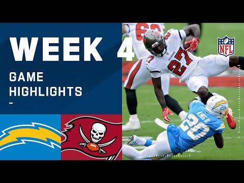 Chargers vs. Buccaneers Week 4 Highlights   NFL 2020