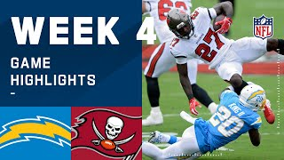 Chargers vs. Buccaneers Week 4 Highlights | NFL 2020