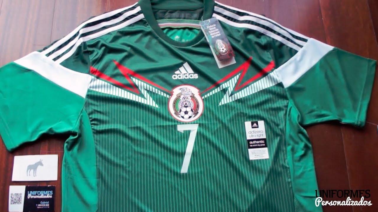 5e60f3830f1e1 México 14-15 (Playera adizero Local). - YouTube
