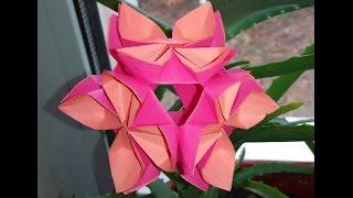 Easy Kusudama Tutorial (lotus Flower). Ideas For Easter. House Decor