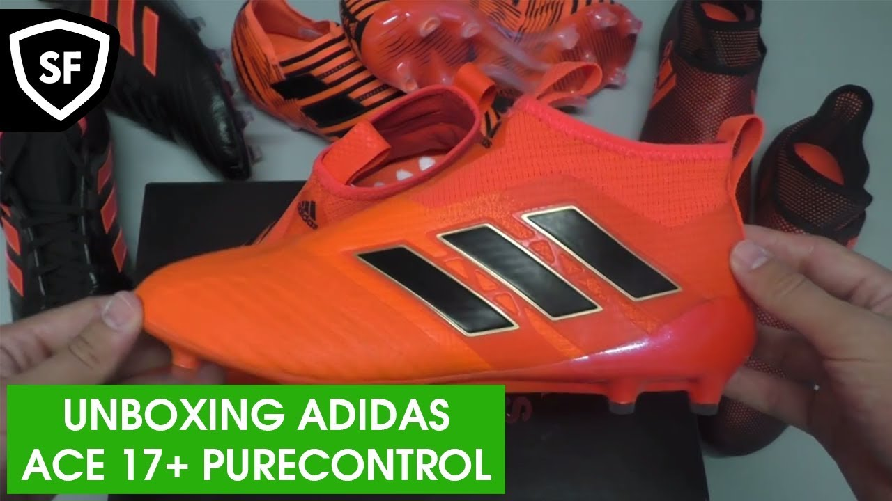 9ad5f6c4f9a2 UNBOXING ADIDAS ACE 17+ PURECONTROL │PYRO STORM - YouTube