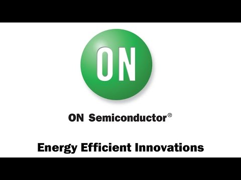 Energy Efficient Innovations from ON Semiconductor