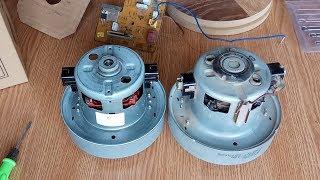 Теперь два рабочих двигателя. Ремонт пылесоса