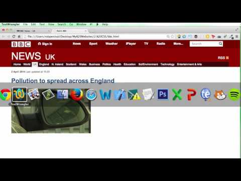 019 CSS Project BBC News Website 4