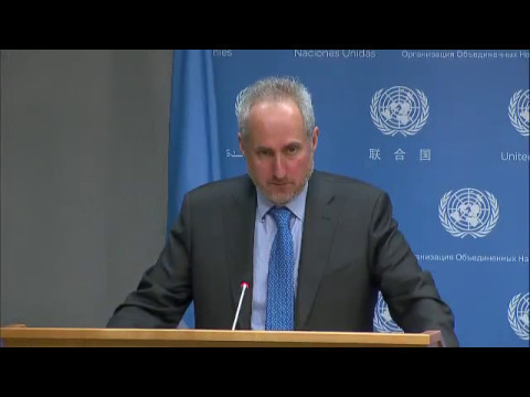 UN Chief condemns missile launch by D.P.R. Korea & other topics (Daily Briefing 15 May 2017)