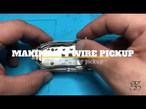 Making 4-wire humbucker pickups out of 2-wire pickups on