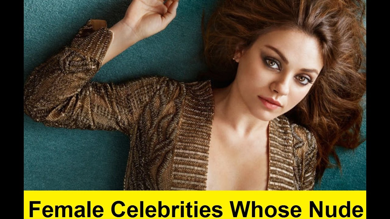 Female Celebrities Leaked Nudes