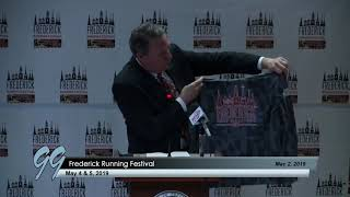 Frederick Running Festival Press Conference