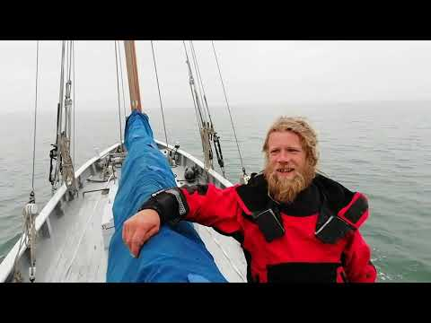 Sailing Eastbourne To Rye On A Gaff Cutter.