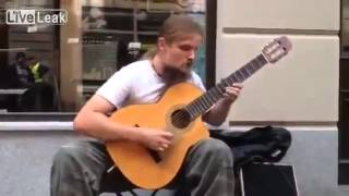 amazing guitar man best street artist on youtube