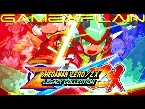 Mega Man Zero/ZX Legacy Collection - Announcement TrailerKaynak: YouTube · Süre: 2 dakika9 saniye