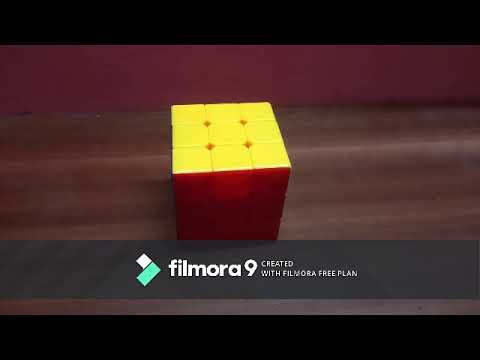 How to solve a 3×3 cube by CFOP method
