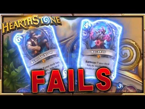 Unluckiest Doomguard..  | FAIL Moments Ep.36 | Hearthstone