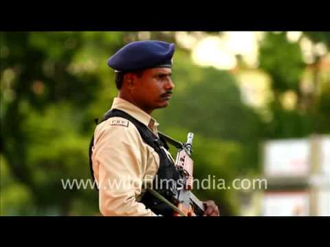 Security forces deployed in every nook and corner of Delhi during XIX Commonwealth Games, 2010