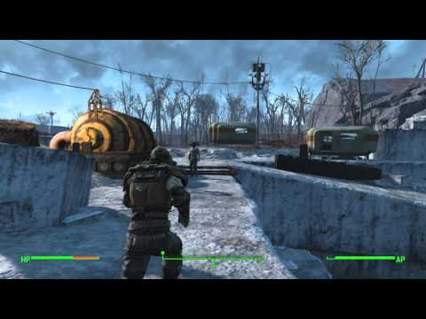Fallout 4 - Pull The Plug: Repair 3/3 Pipes (Bubbles) Softshell Mirelurk Combat, Sully Mathis Chat