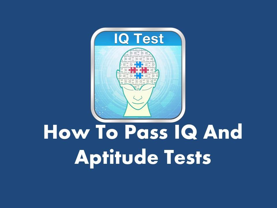 IQ and Aptitude Tests - Sample test questions ...