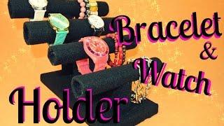 DIY Watch & Bracelet Holder - easy and cheap / LADYSASETKA