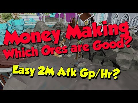Money Making With Mining! [Runescape 3] AFK 2m Gp/Hr & More!