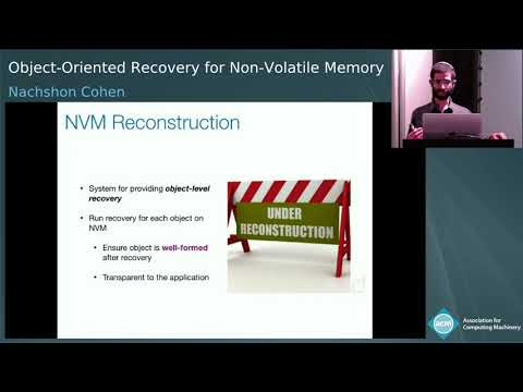 Object-Oriented Recovery For Non-Volatile Memory