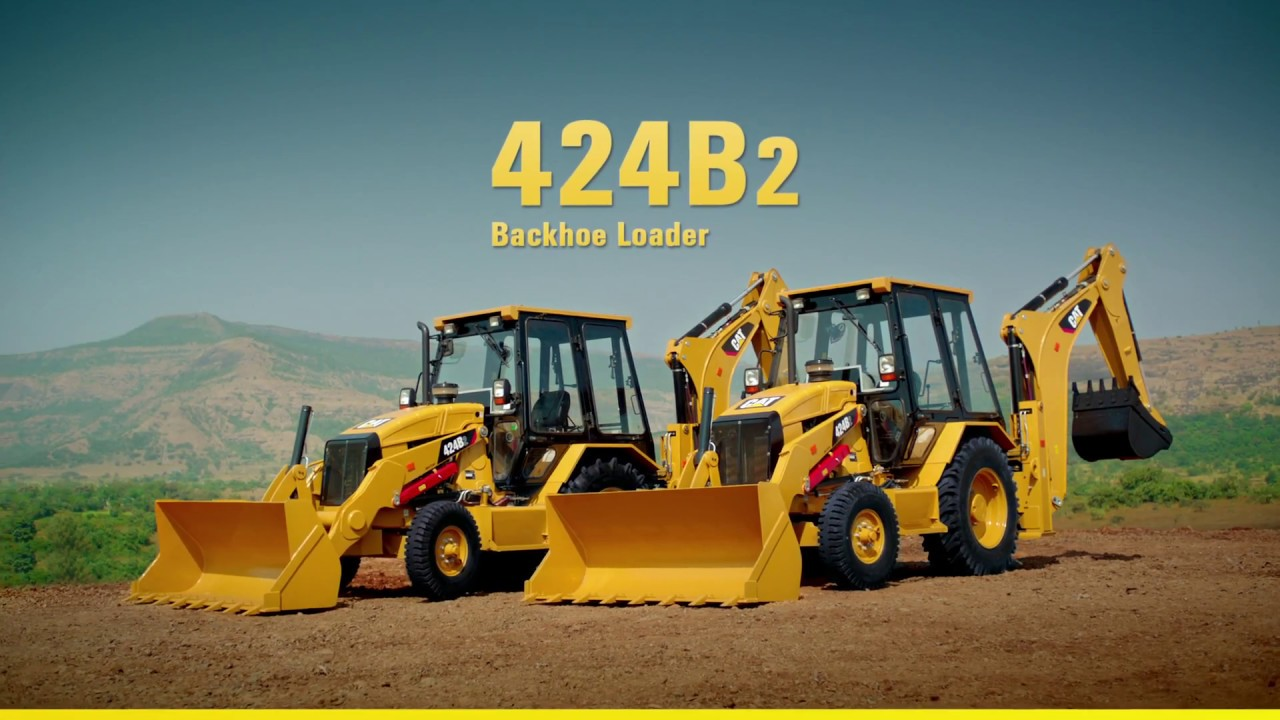 Cat® 424B2 Backhoe Loader - Made for You (Television Commercial) (India  only)