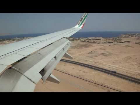 Lądowanie W Sharm El-Sheikh (Air Italy, Lot Z Warszawy) 27.07.2010