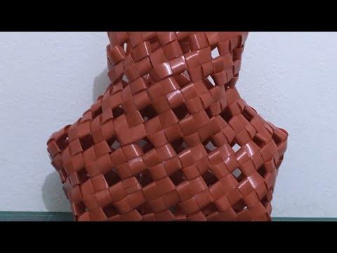 Tutorial Ke 27 - Weaving Fish Basket