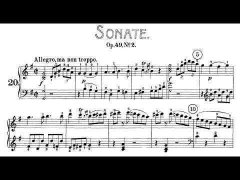 Beethoven: Sonata No.20 in G Major, Op.49 No.2 (Goode, Lewis)