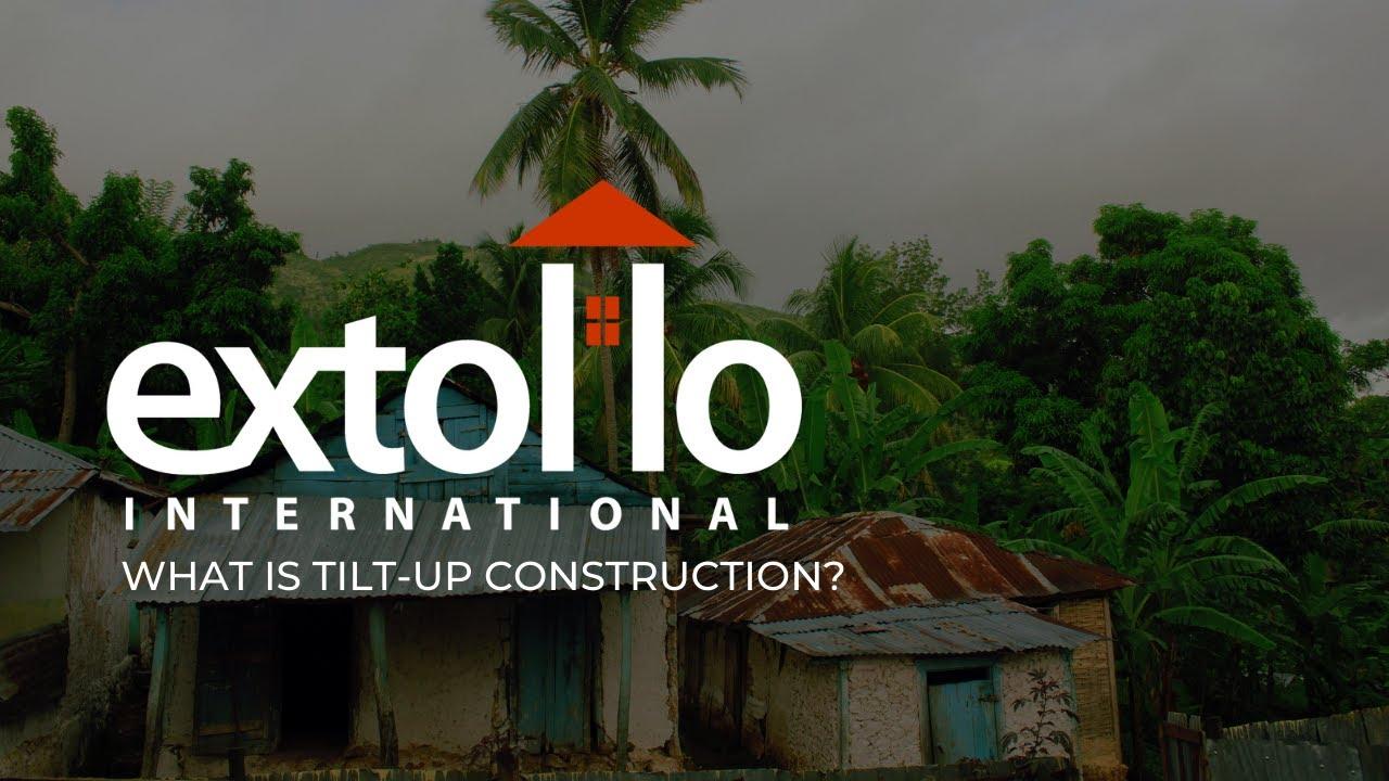 What is tilt-up construction?