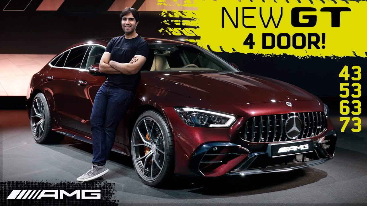 2022 AMG GT 4 Door Special Edition! Facelift 53, 43 and New 63S +73!