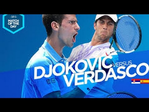 Djokovic vs Verdasco live streaming (ATP QATAR) 2017 , highlights 2017