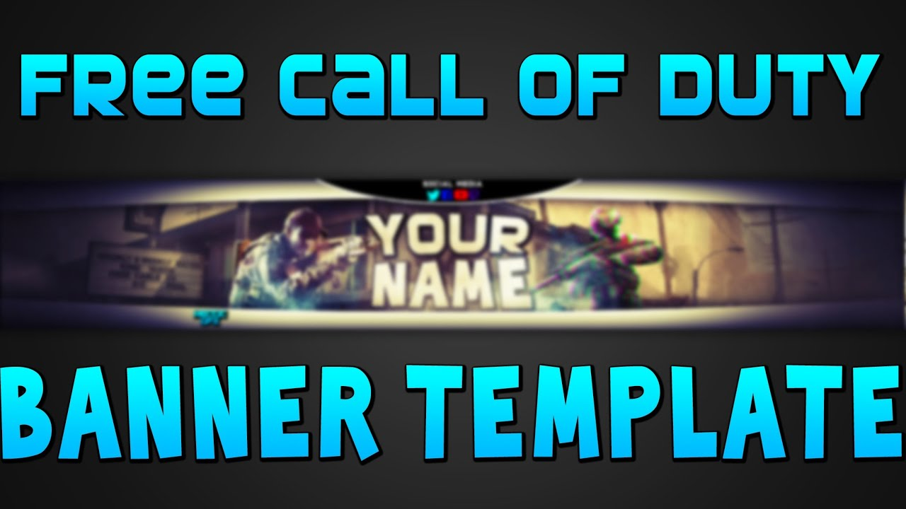 Free Call Of Duty Banner Template! (4th Of July Special