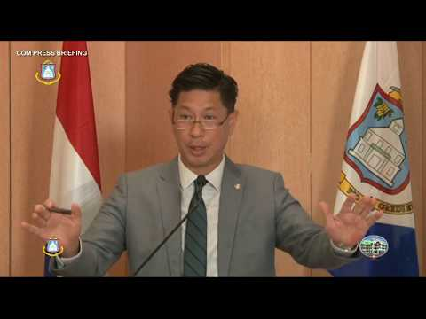 COUNCIL OF MINISTERS PRESS BRIEFING MAY 23rd 2018