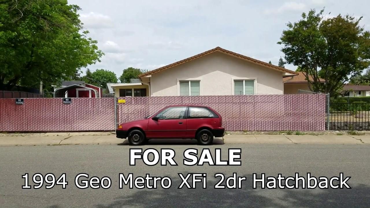 1994 Geo Metro For Sale - [As Is] - by Original Owner