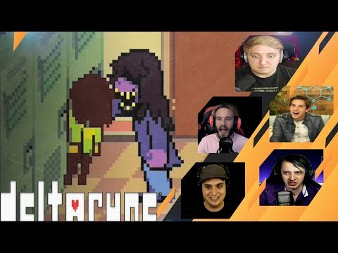 Gamers Reactions to LOSING YOUR FACE (SUSIE) | Deltarune