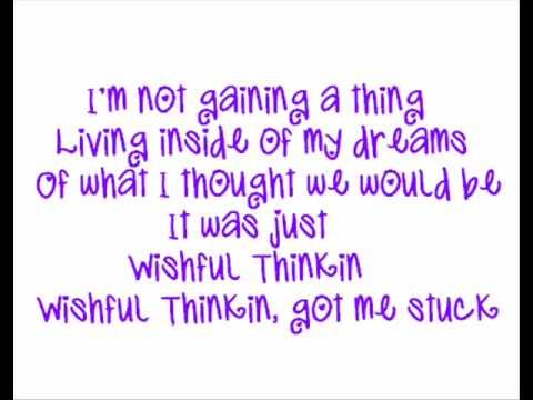 Tynisha Keli  Wishful Thinking ♪♫Lyrics♫♪
