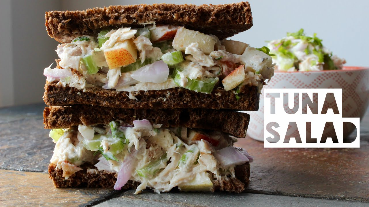 Healthy tuna salad recipe how to make a low calorie low fat high healthy tuna salad recipe how to make a low calorie low fat high protein tuna salad youtube forumfinder Choice Image