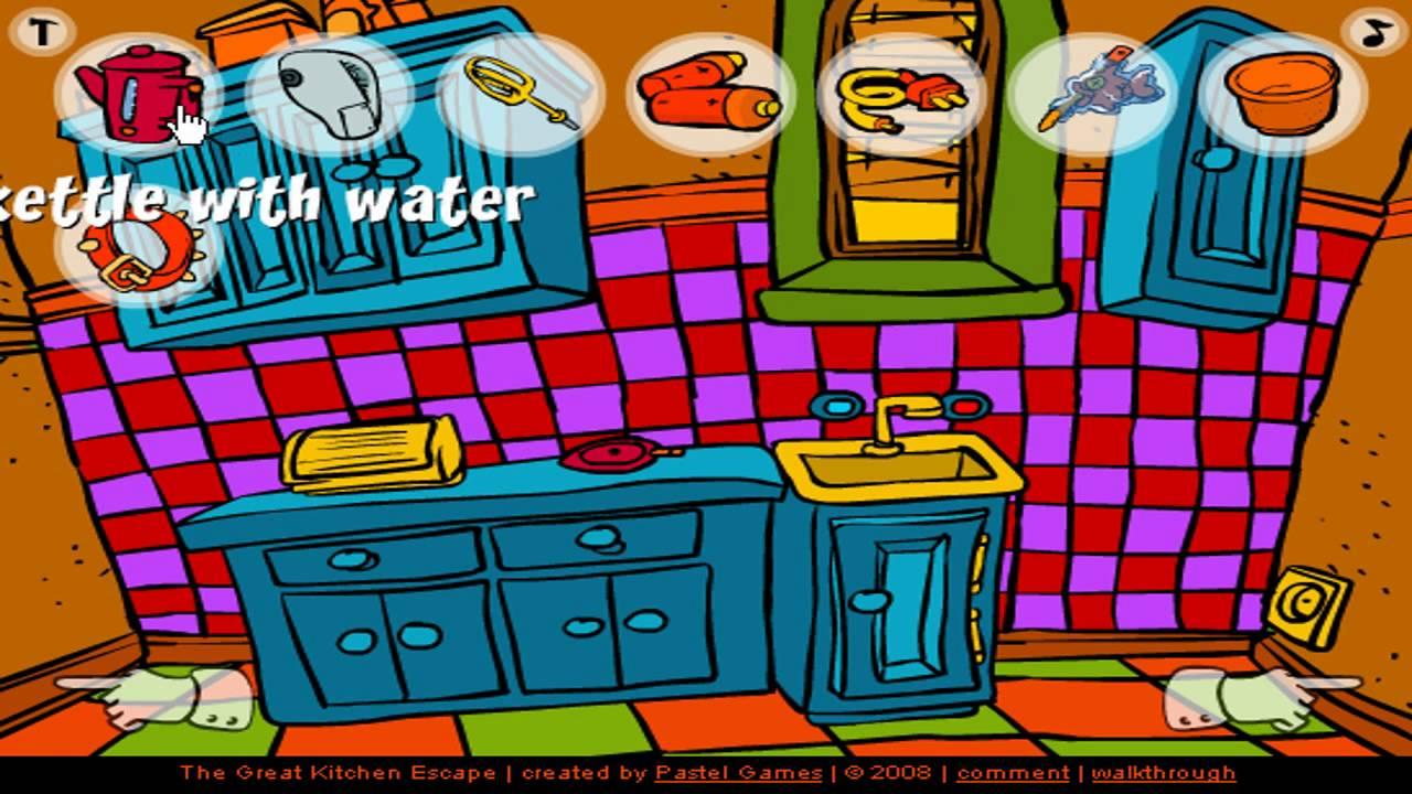 marvelous The Great Kitchen Escape Walkthrough Part - 2: The Great Kitchen Escape Walkthrough