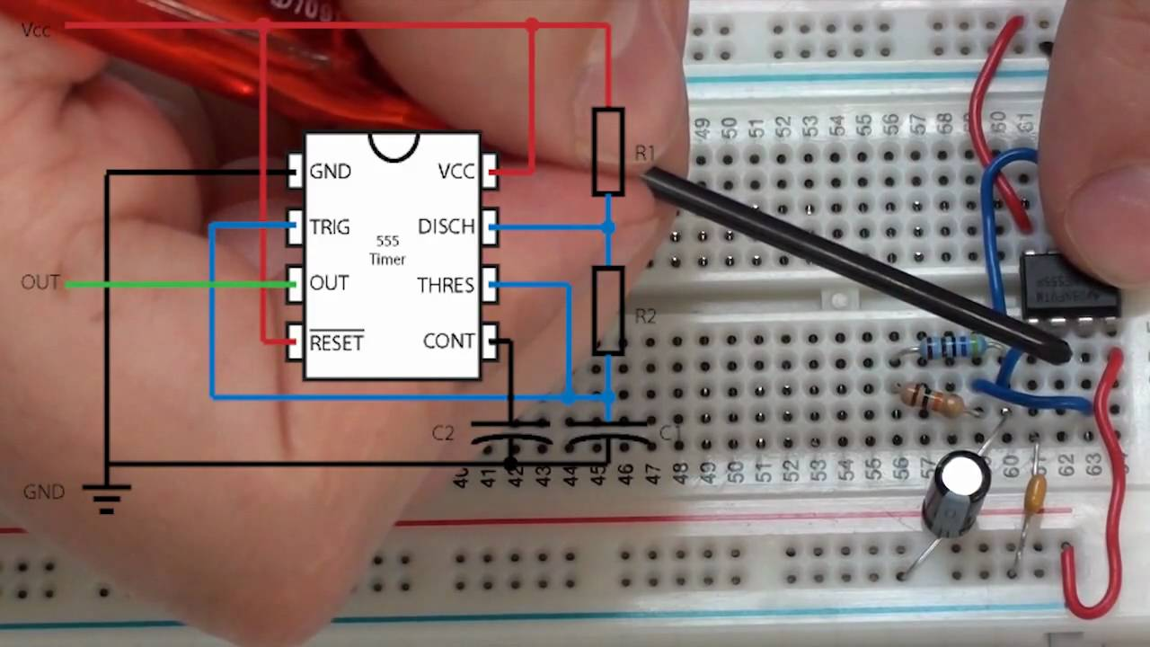 Watch on breadboard circuits