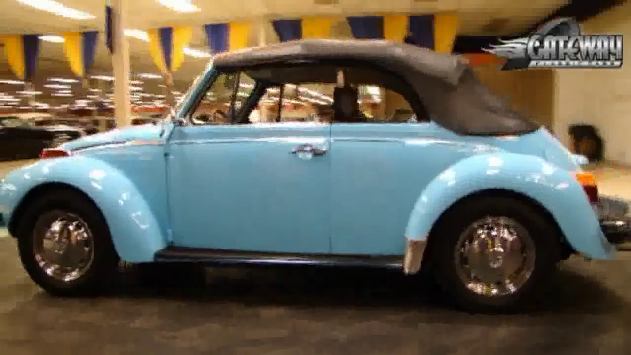 1974 Volkswagen Super Beetle Convertible for sale at Gateway Classic Cars in our St. Louis ...