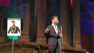 العراقي محمد الفارس حبك يدق بالرأس مهرجان جرش 2018 حفله روعه
