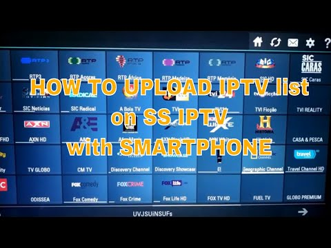 HOW TO UPLOAD IPTV List On SS IPTV Easy Setup And Configuaration 2019   Smart TV ANDROID