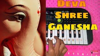 Download Hindi Video Songs - Deva Shree Ganesha on keyboard | Ganpati Special 2016 | Ashking Piano