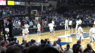 Kentucky Wildcats Walk Into Freedom Hall