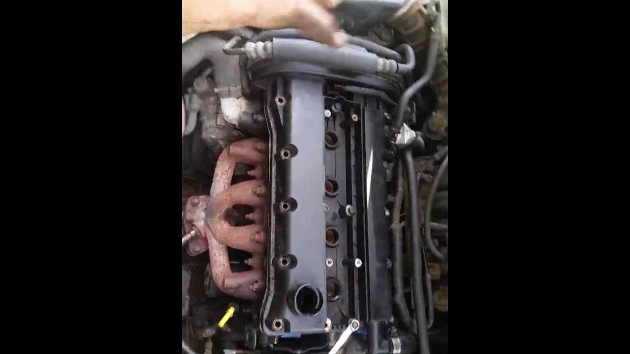 Changing Valve Cover Gasket In A 05 Chevy Aveo Ls
