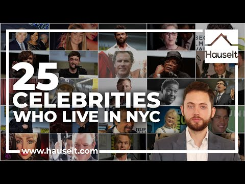 Top 25 Celebrities Who Live in NYC: Names & Addresses